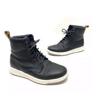 Dr Martens Rigal Dark Gray/black boots Size 7